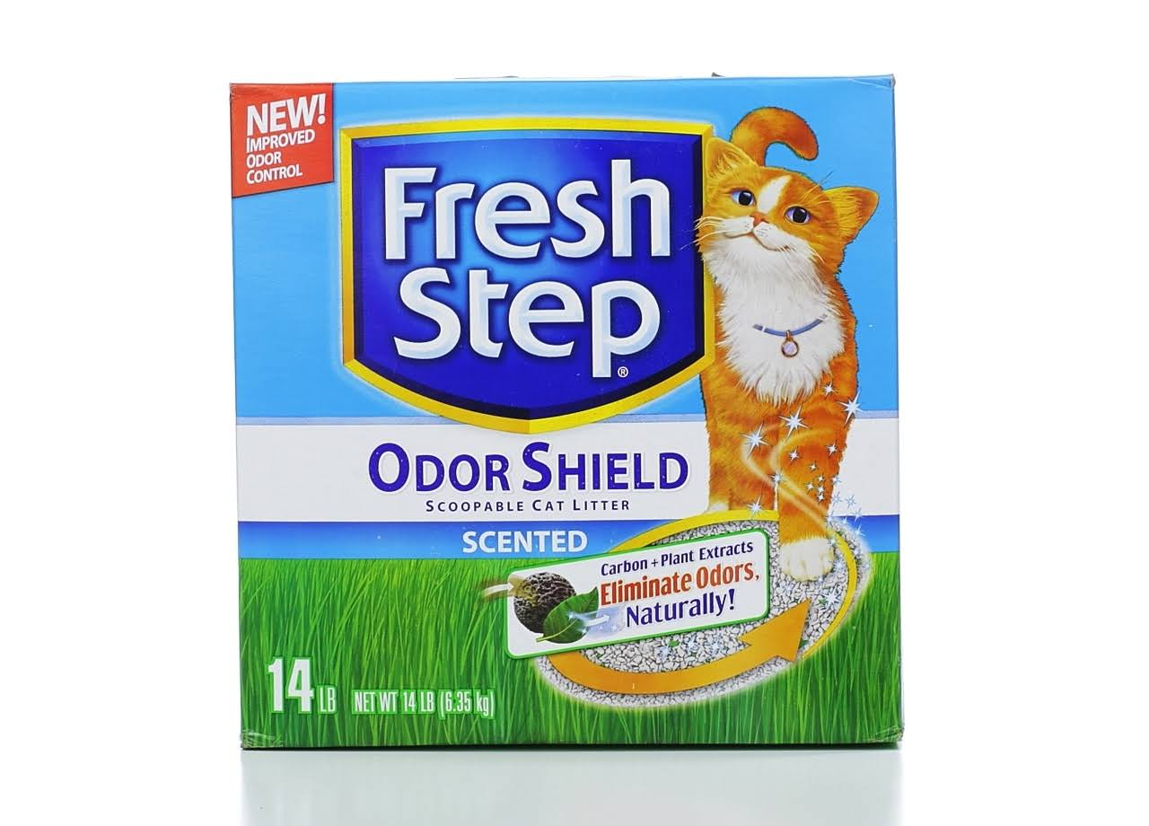 Fresh Step Scoopable Clumping Scented Cat Litter - 14lbs