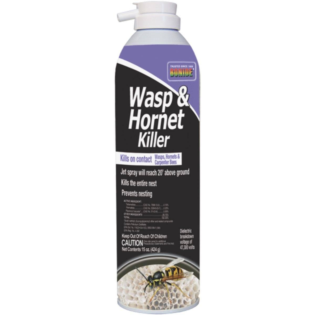 Bonide Wasp and Hornet Insect Killer Spray - 15oz
