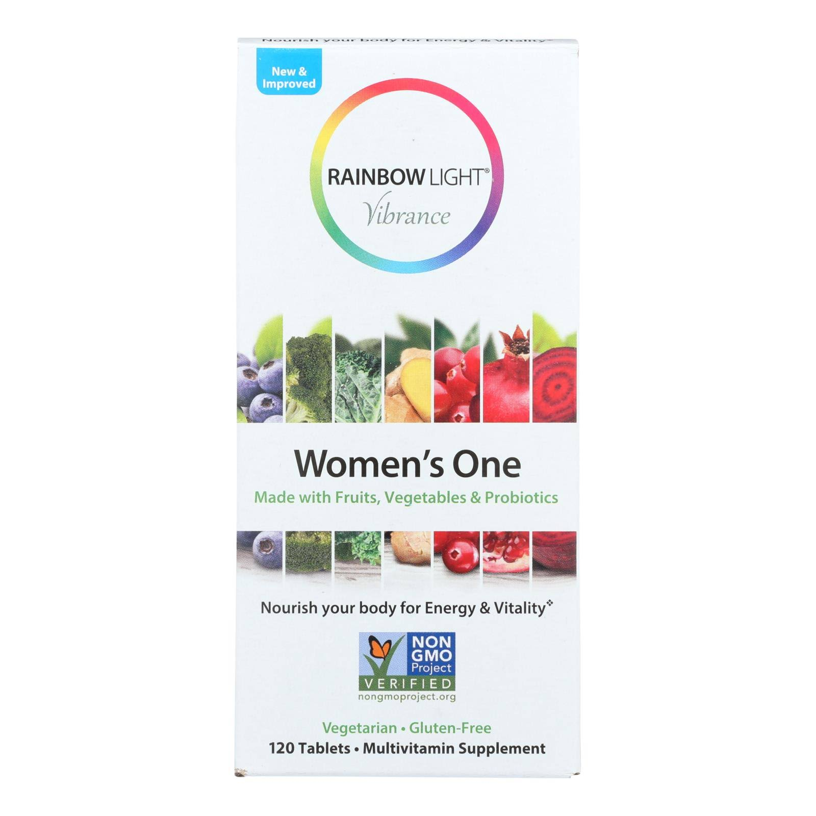 Rainbow Light Women's One, Vibrance - 120 tablets