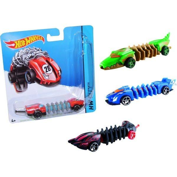 Hot Wheels Mutant Machine City Car - Red