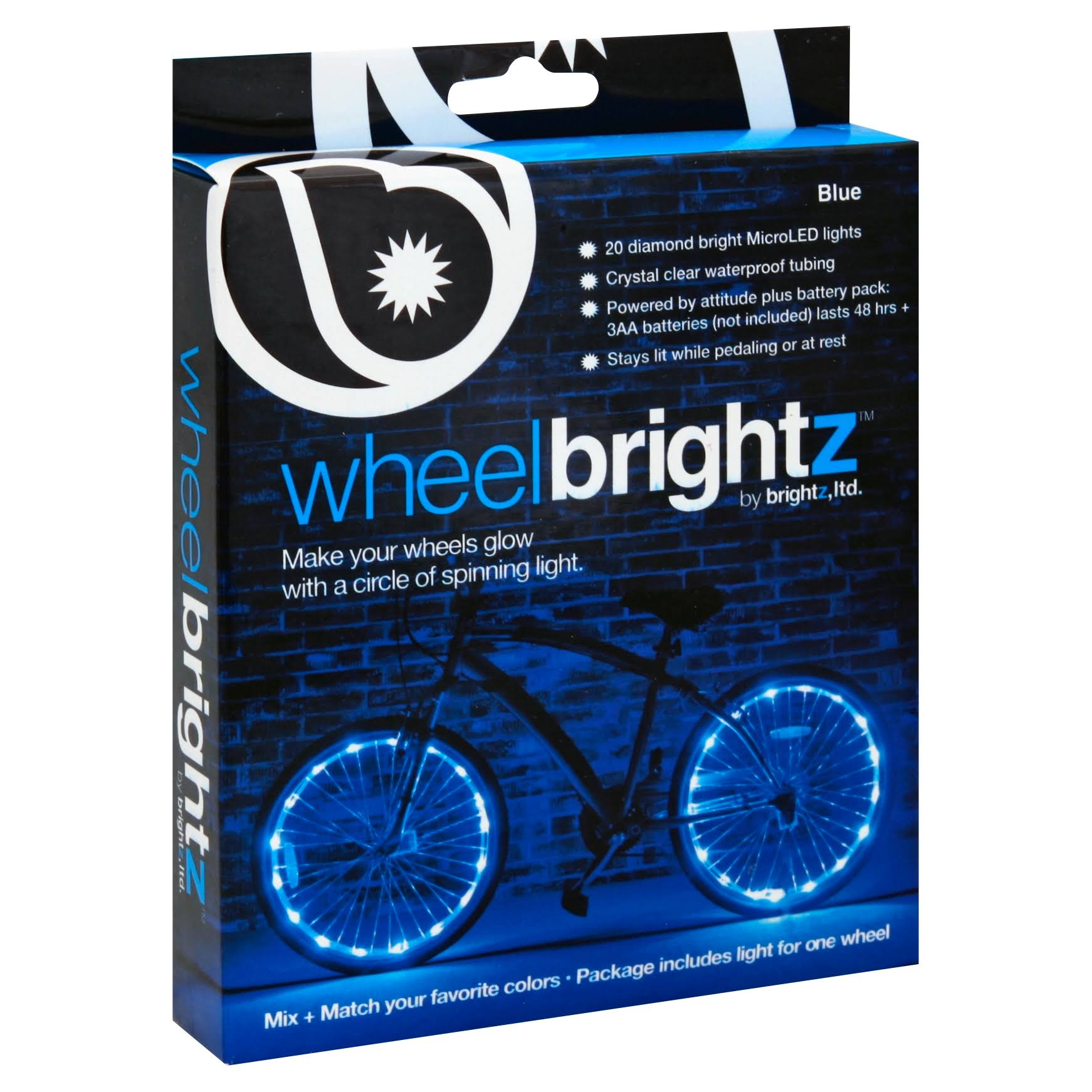 Brightz Ltd. Wheel Brightz LED Bicycle Light - Blue