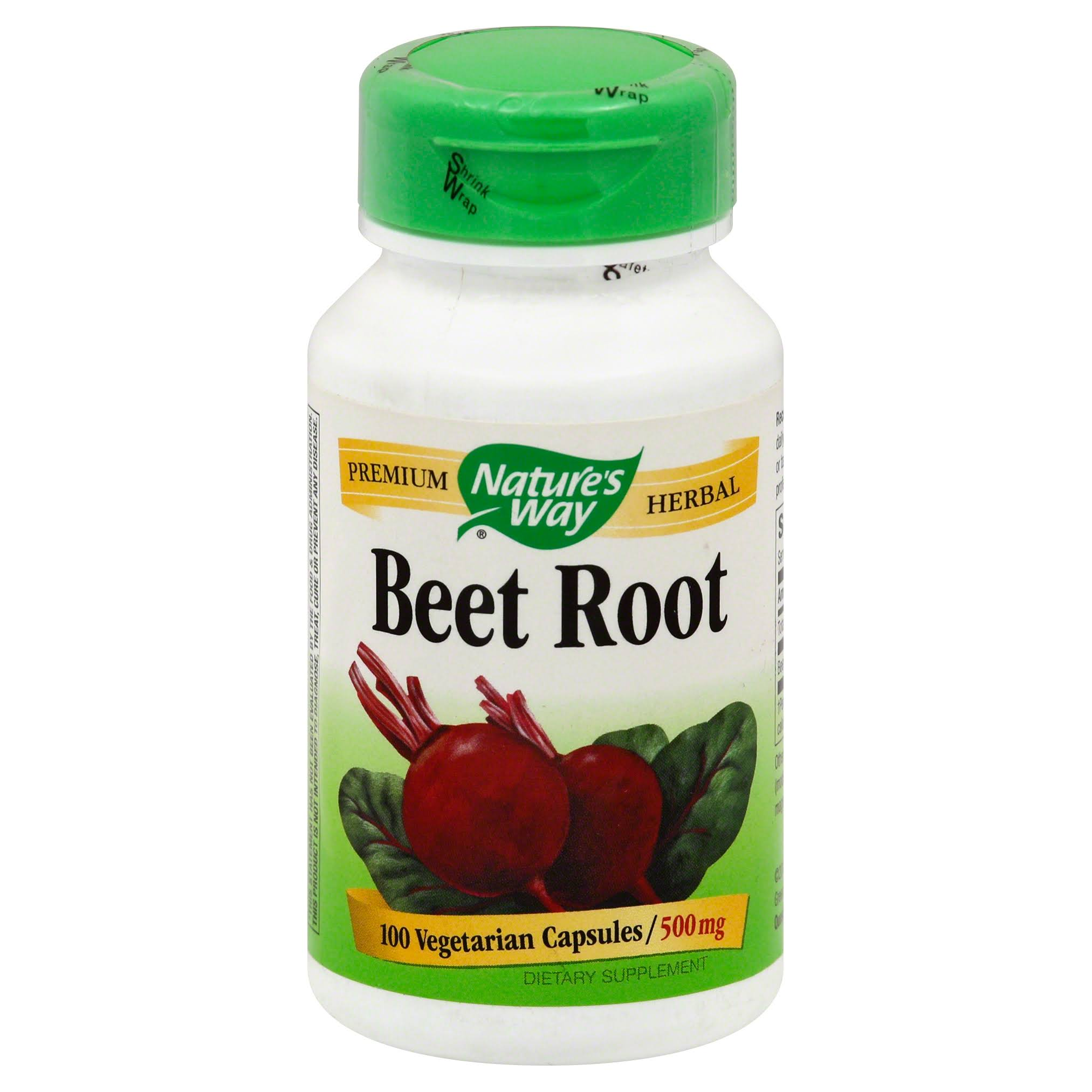 Nature's Way Beet Root Powder Capsules