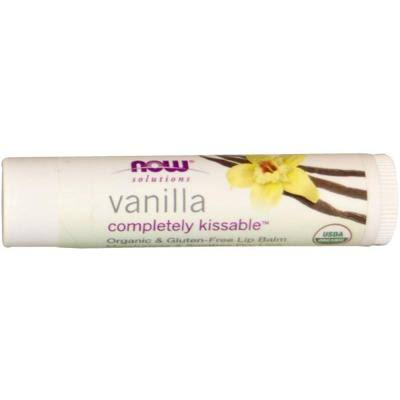Now Foods Completely Kissable Lip Balm - Vanilla 0.15 oz Balm