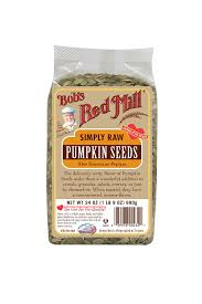 Soaking Pumpkin Seeds In Saltwater by Amazon Com Bob U0027s Red Mill Pumpkin Seeds Raw 24 Ounce Packages