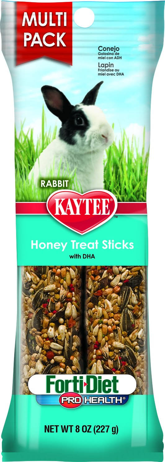 Kaytee Pet Products SKT100502977 Forti-Diet Pro Health Rabbit Honey Treat Sticks