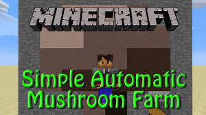 Minecraft Automatic Pumpkin Farm by Minecraft Mushroom Farm Tutorial For 1 8 Simple Fully Automatic