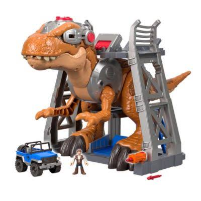 Fisher Price Imaginext Jurassic World T Rex Playset