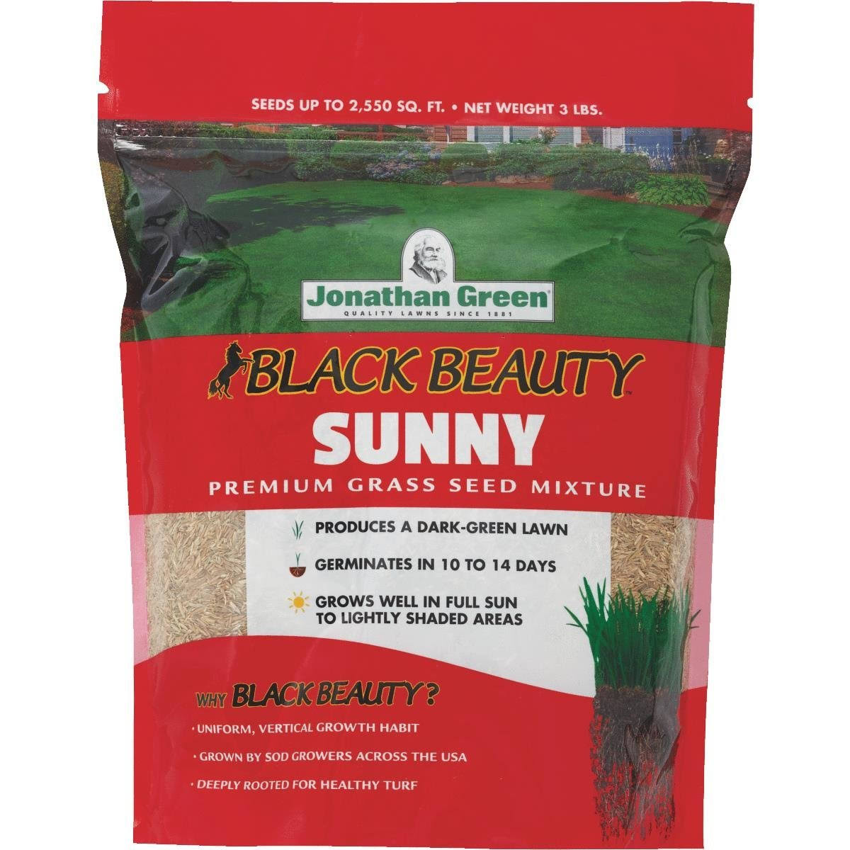 Jonathan Green Full Sun Grass Seed - 3lb
