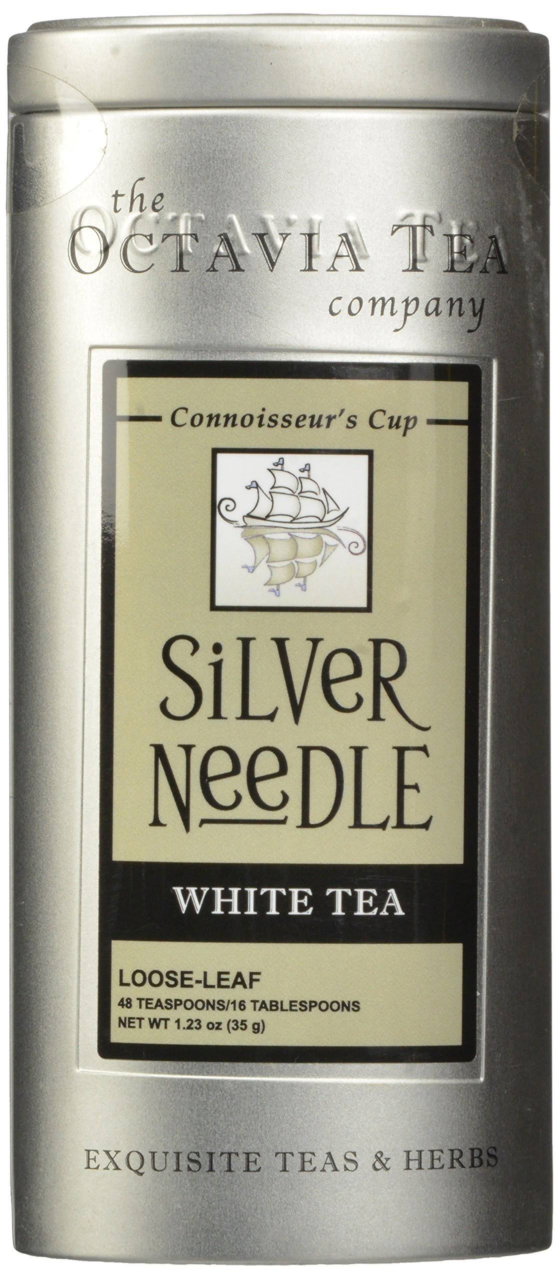 Octavia Tea Silver Needle Loose Tea - 1.23oz