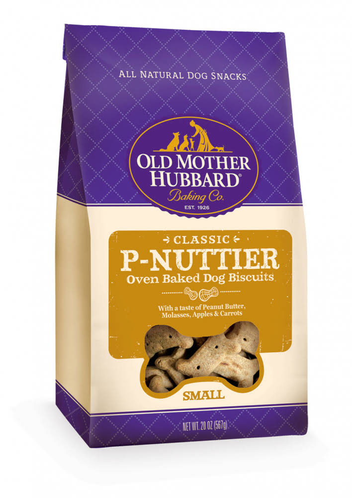 Old Mother Hubbard Classic P-Nutter Oven Baked Dog Biscuits - 20 Oz