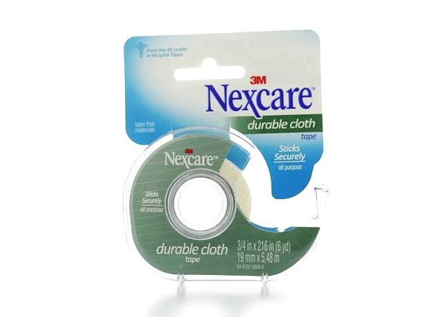 3M Nexcare Durable Cloth First Aid Tape - 19mm x 5.48m