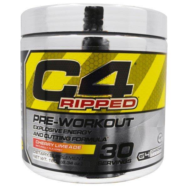 Cellucor C4 Ripped Pre-Workout - Cherry Limeade, 30 Servings
