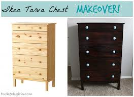 Ikea Tarva 6 Drawer Dresser by Ikea Tarva Chest Makeover Projects Pinterest Dresser And