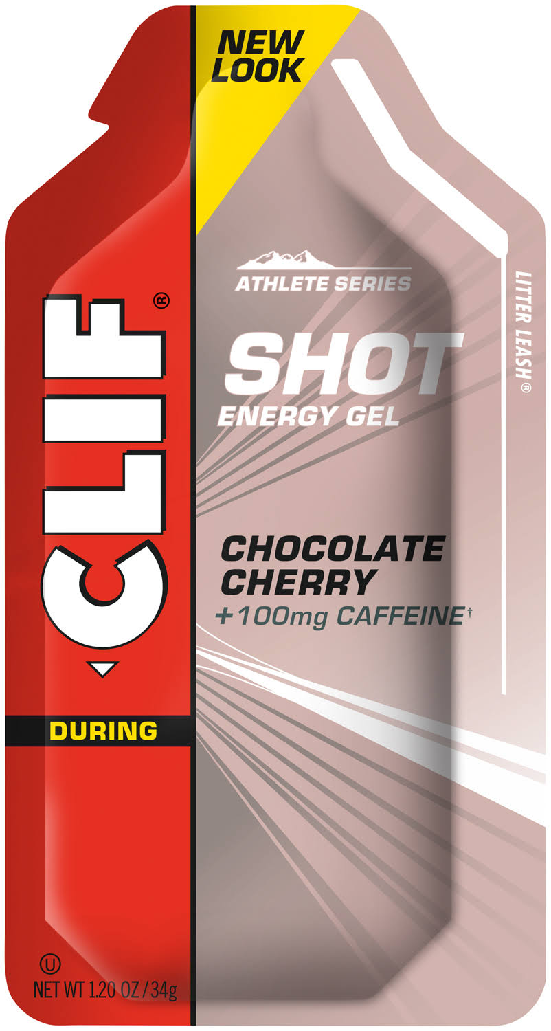 Clif Shot Energy Gel - Chocolate Cherry, Pack of 24