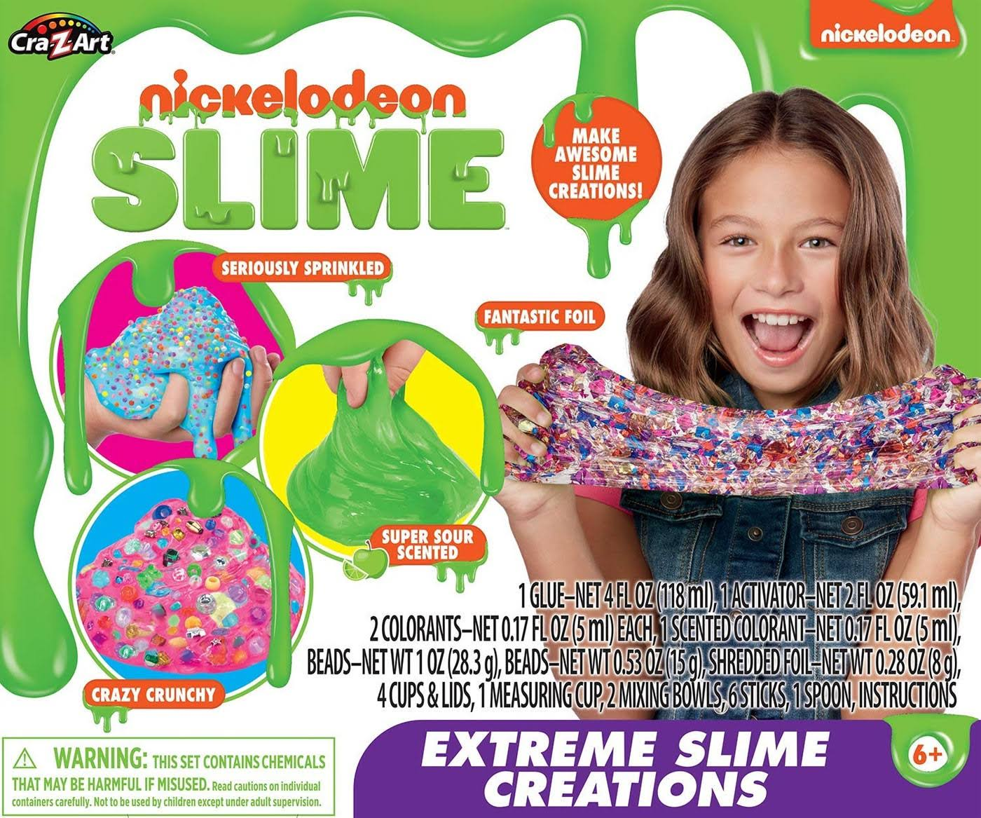 Nickelodeon Extreme Slime Creations Kit