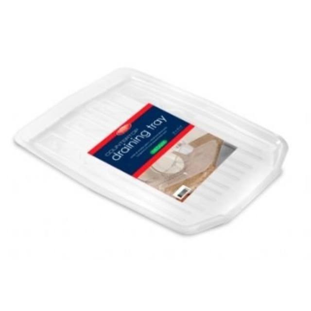 Kennedy Home Collections Draining Tray - White, Medium