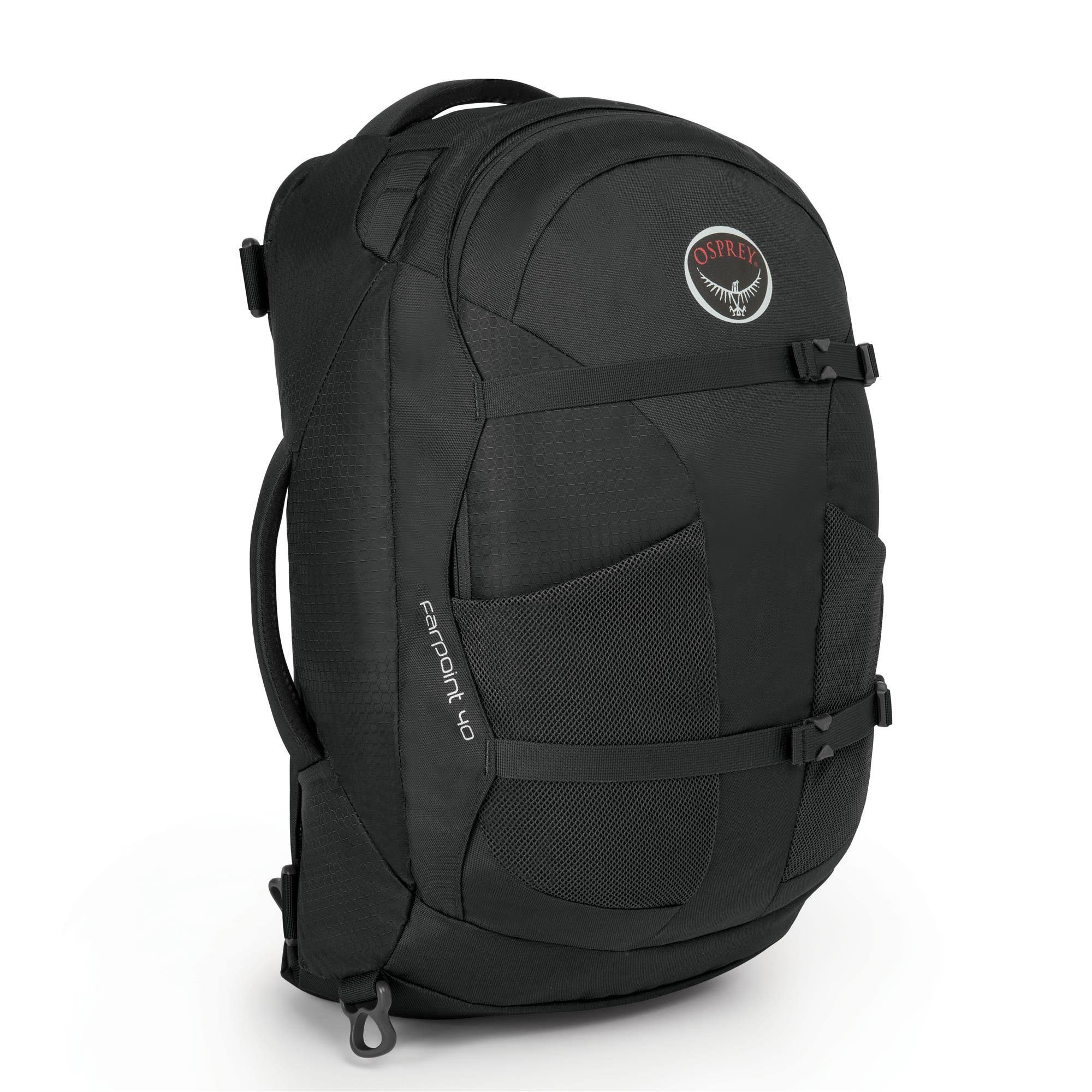 Osprey Farpoint Backpack - Black, 40l to 60l