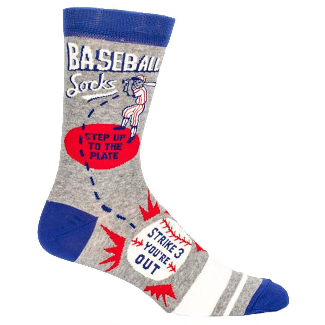 Blue Q - Baseball Crew Socks | Men's