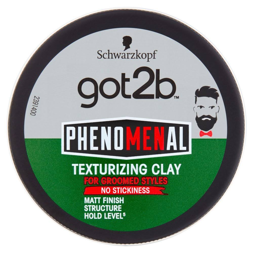 Schwarzkopf Got2b Phenomenal Texturizing Clay, 100 ml