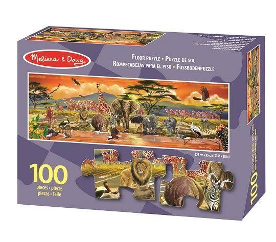 Melissa & Doug Safari Floor Puzzle