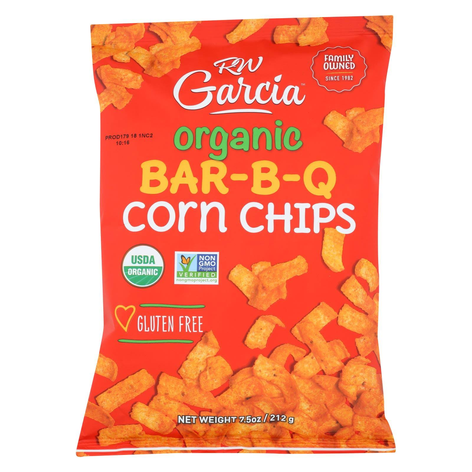 RW Garcia Organic Corn Chips - Bar-B-Q