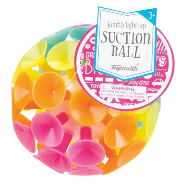 Toysmith Light Up Jumbo Suction Ball