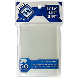 Fantasy Flight Games Standard Card Game Sleeves - 50 Count
