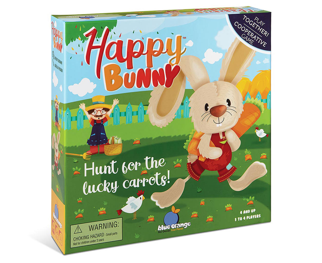 Blue Orange Happy Bunny Game