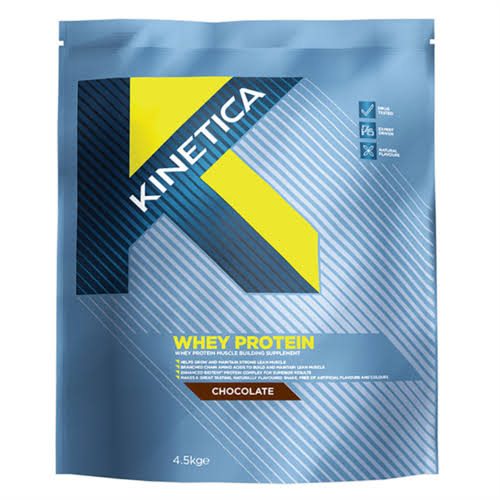 Kinetica Whey High Protein Supplement - Chocolate, 4.5kg