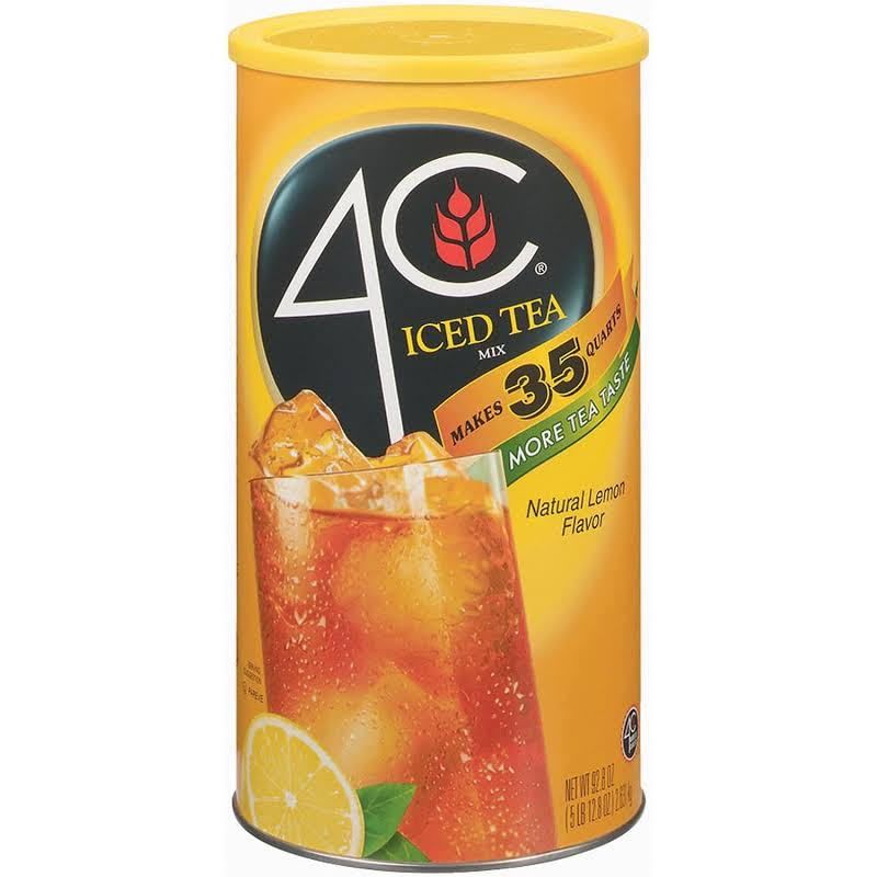 4C Lemon Iced Tea Mix - 92.8-oz. canister