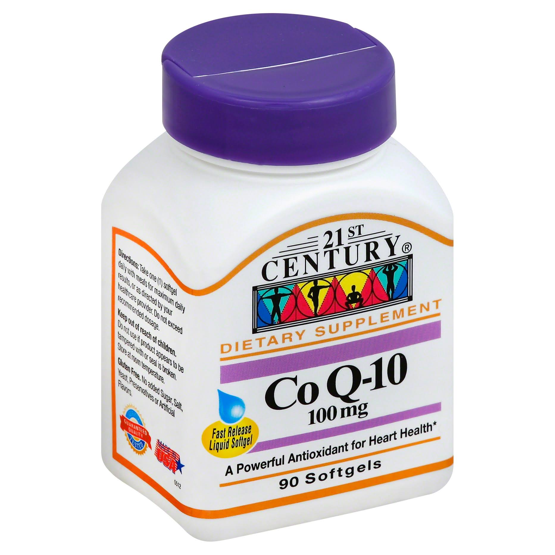 21st Century COQ-10 Softgels - 100mg, 90 Count
