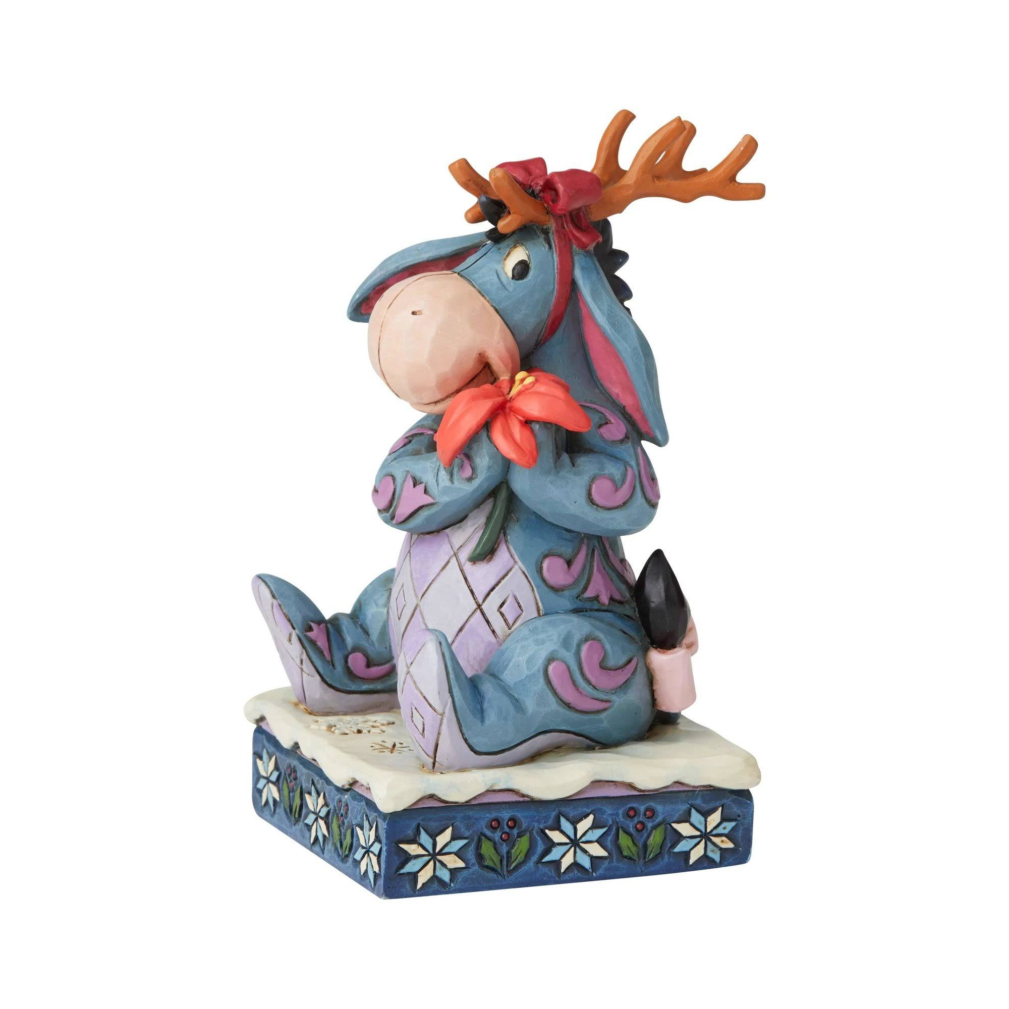 Disney Traditions Winter Wonders Eeyore Christmas Figurine