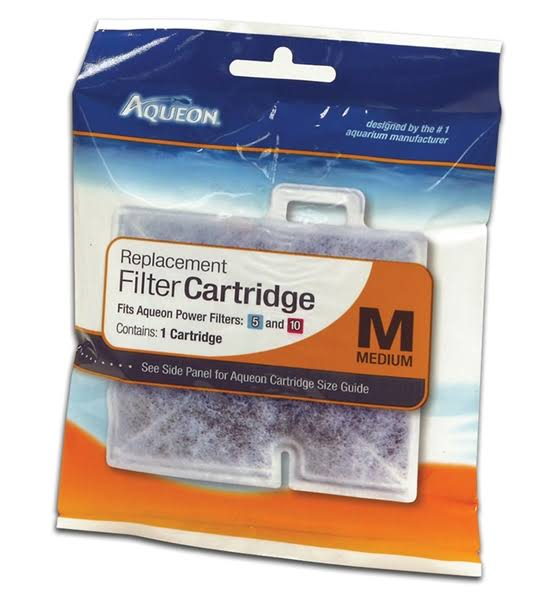 Aqueon QuietFlow Filter Cartridge, Medium, 1-Pack