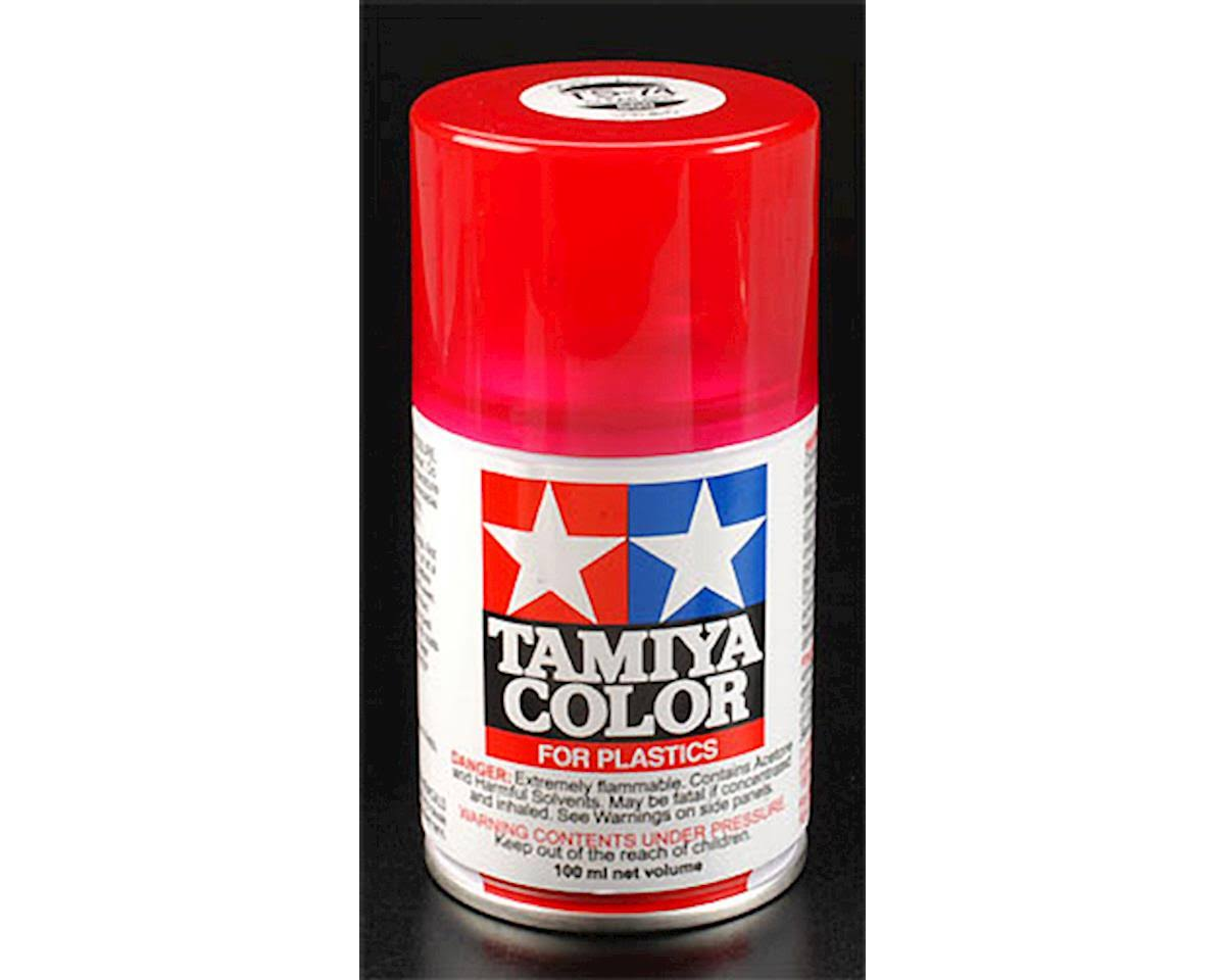 Tamiya - Spray Lacquer TS-74 Clear Red - 85074