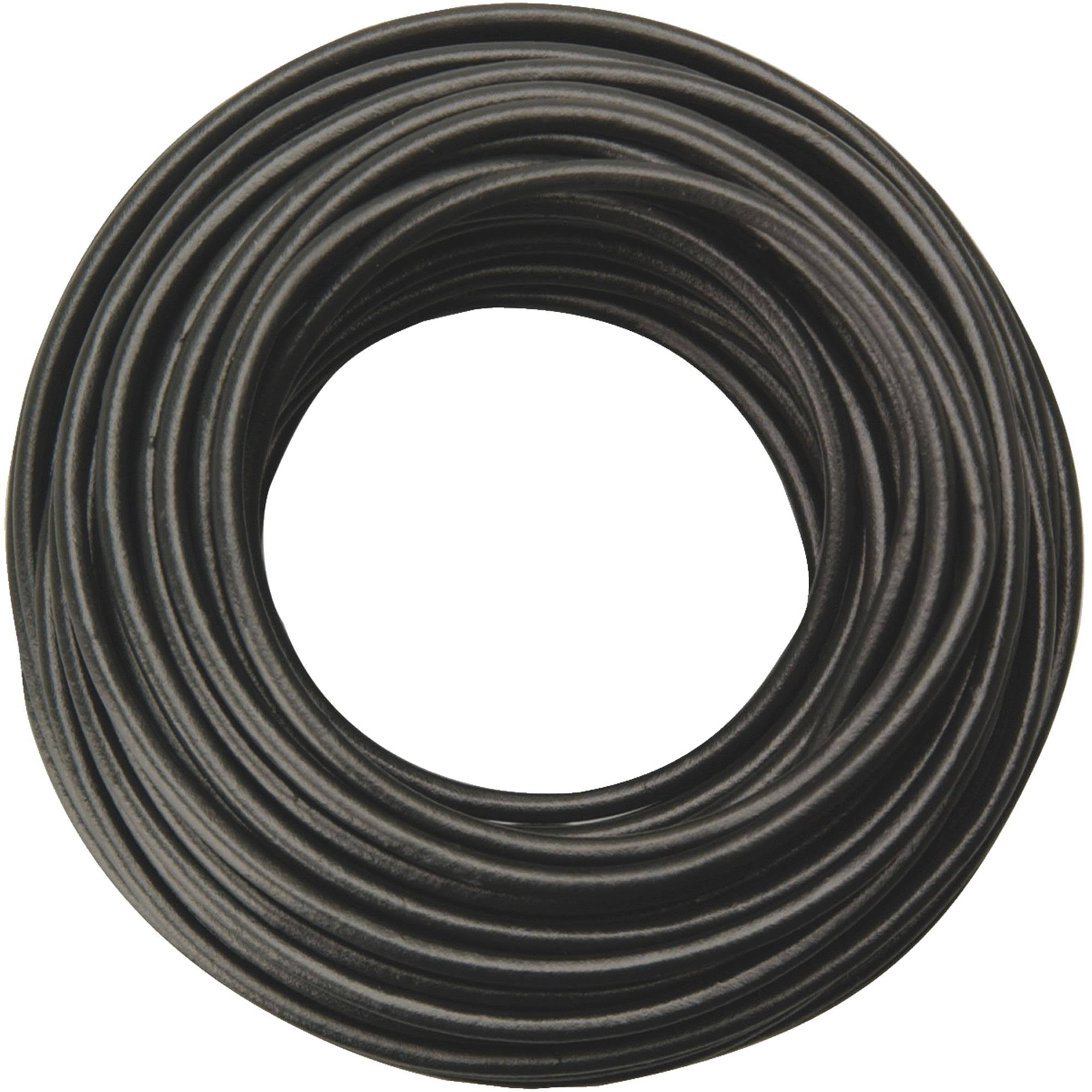 Coleman Cable 18 Gauge Primary Wire - Black, 33ft