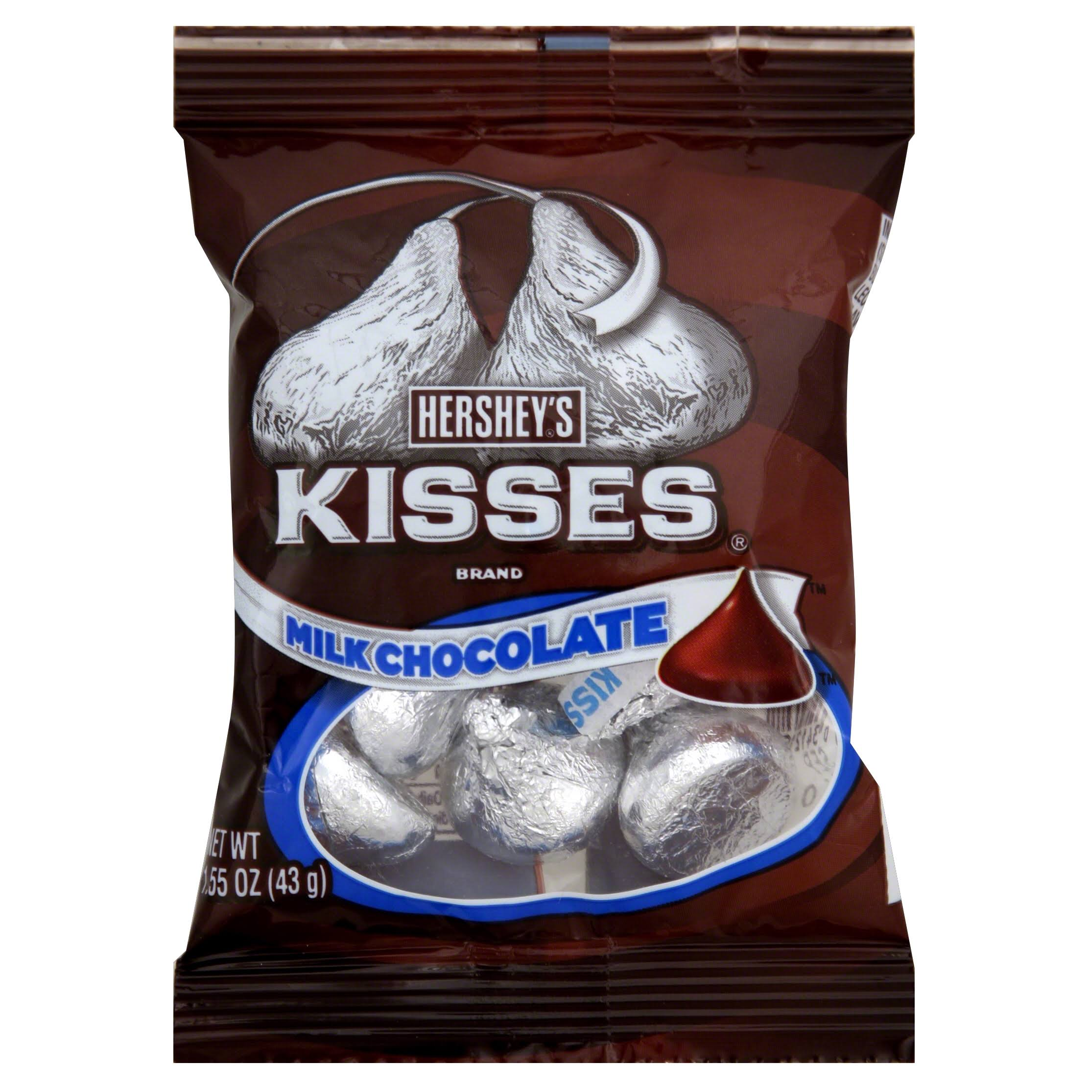 Hershey's Kisses Milk Chocolate - 43g