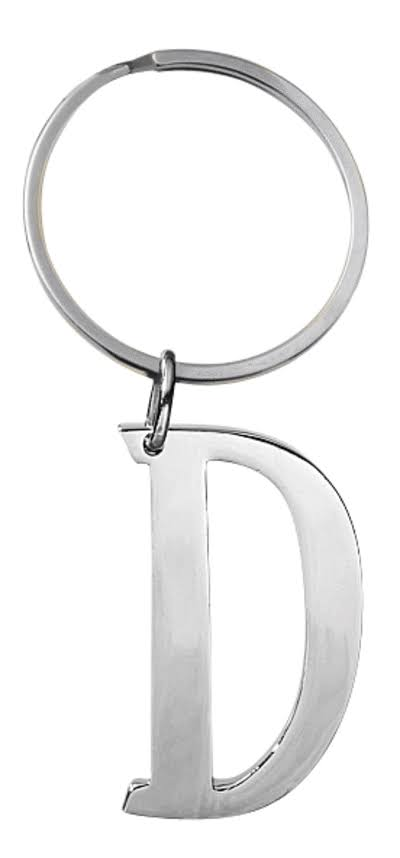 Ganz Initially Yours KeyRing - D