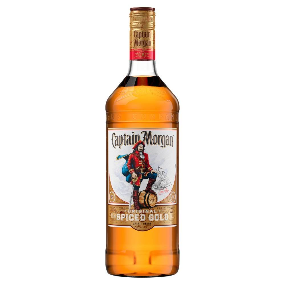 Captain Morgan Original Spiced Gold Rum - 1l