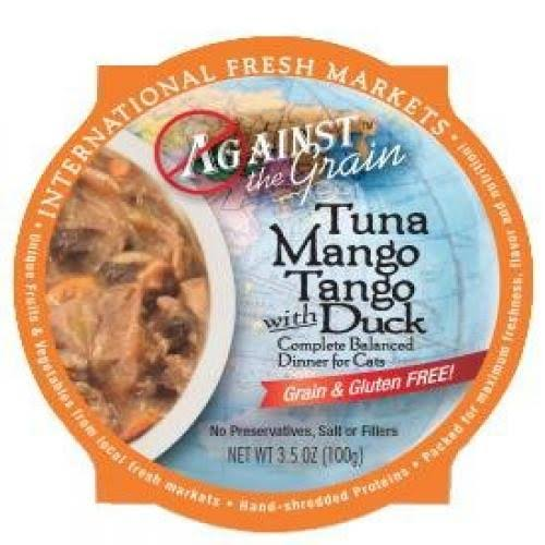 Evangers Against The Grain Cat Food - Tuna Mango Tango, 3.5oz