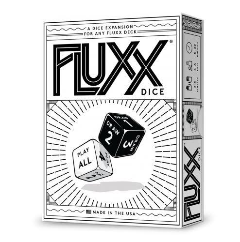 Fluxx Dice Expansion Card Game
