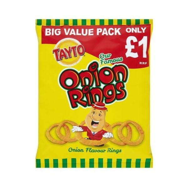 Tayto Onion Rings PM - 12 x 45gm