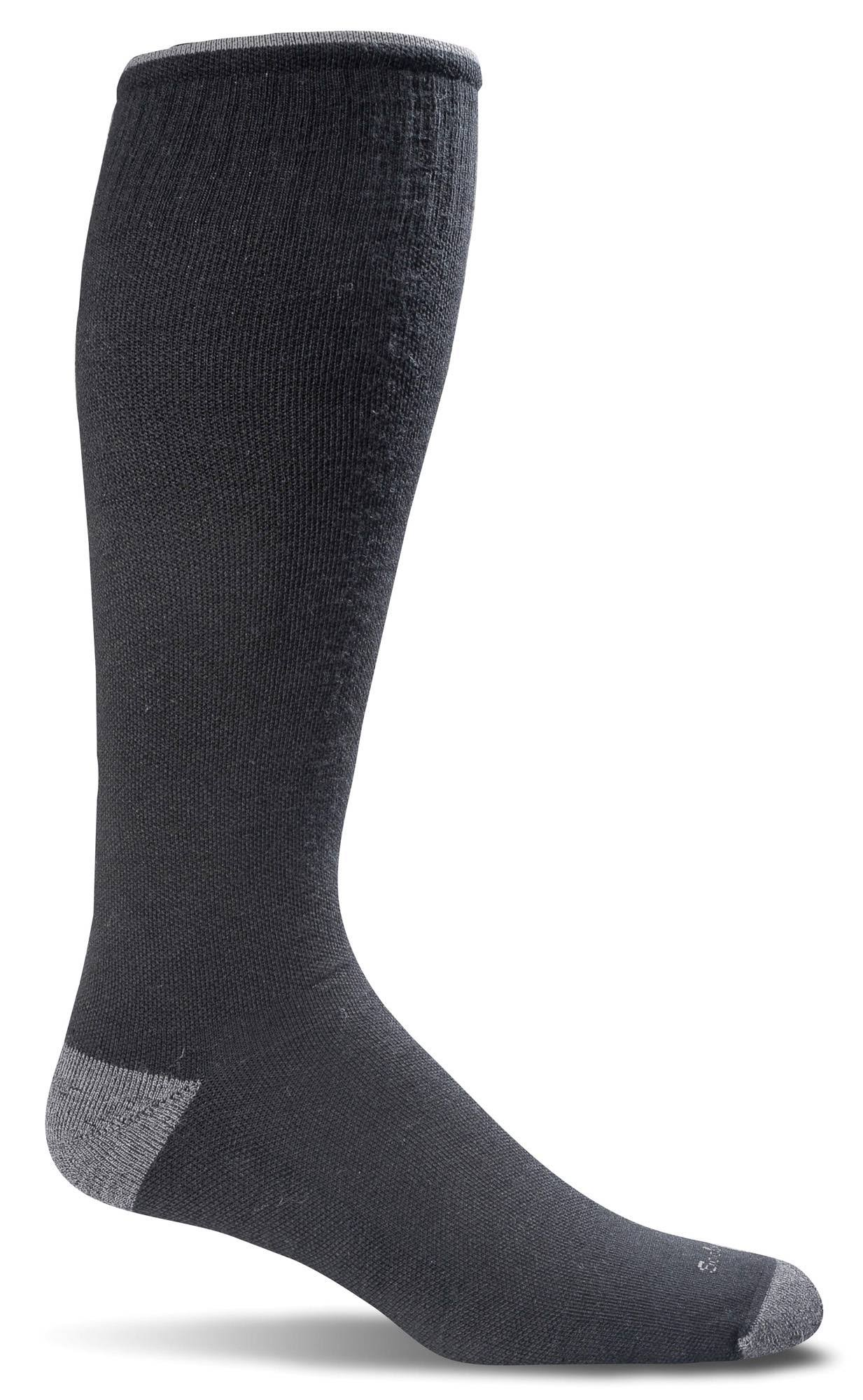 Sockwell Men's Elevation Graduated Compression Sock - Black