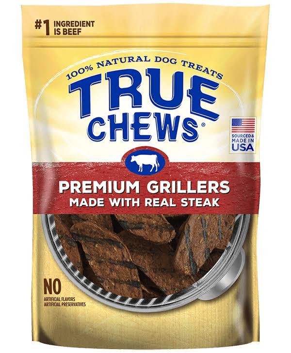 Tyson True Chews Premium Grillers Steak Dog Treats - 20oz