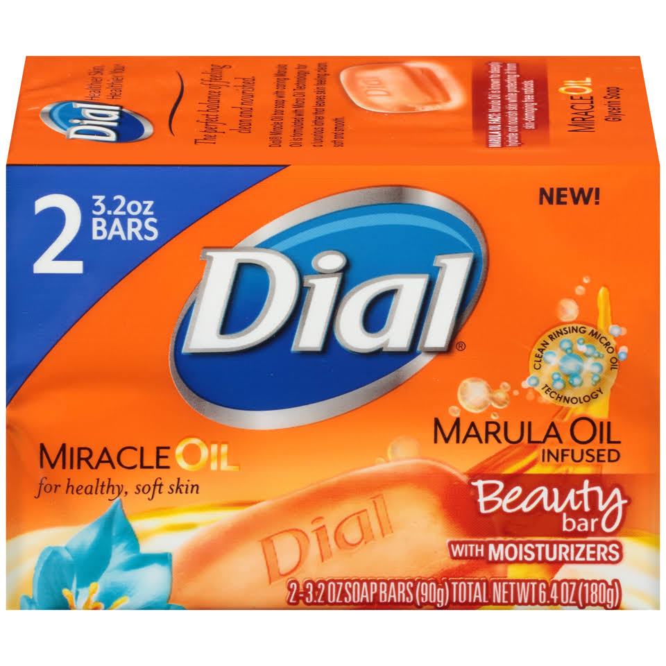 Dial Miracle Oil Bar Soap - 3.2oz