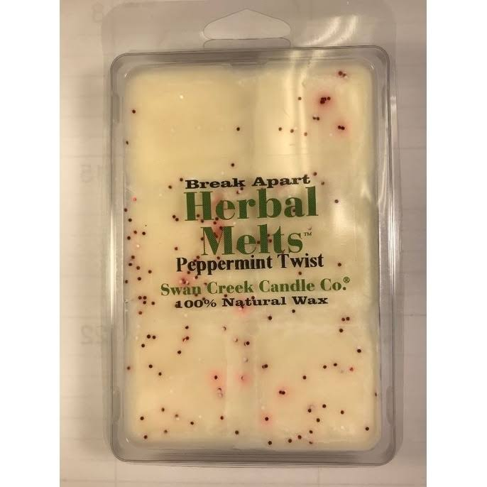Swan Creek Candle Co. Drizzle Wax Melt: Peppermint Twist, 4.75oz