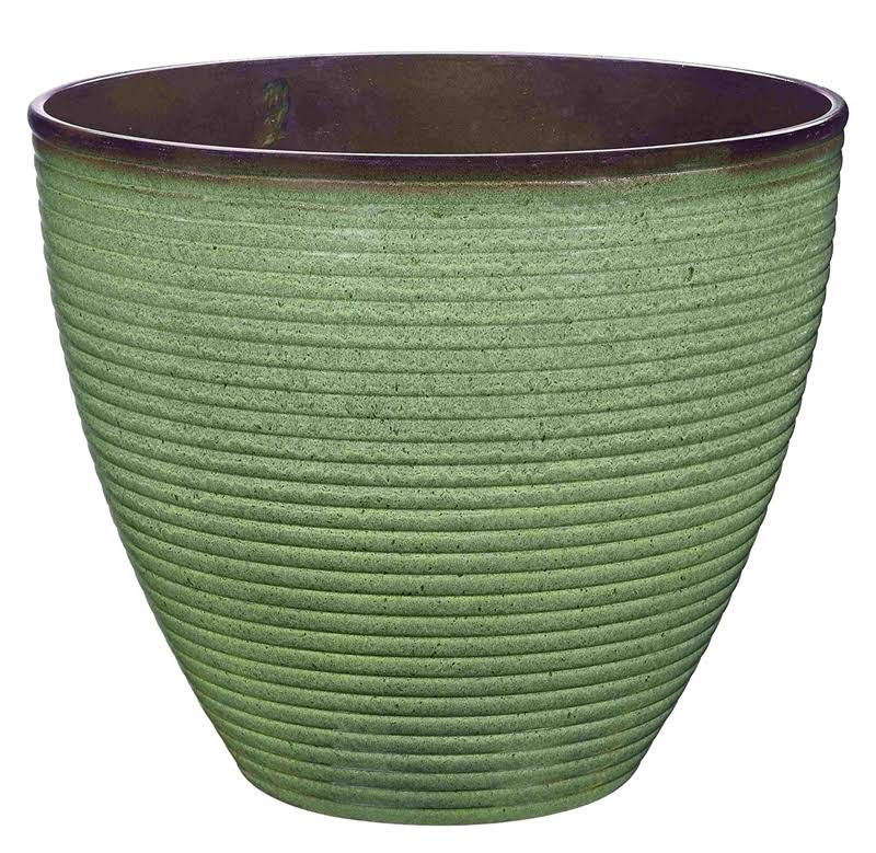 Landscapers Select Planter Wave RSN 14.75X12.5IN per 6 EA