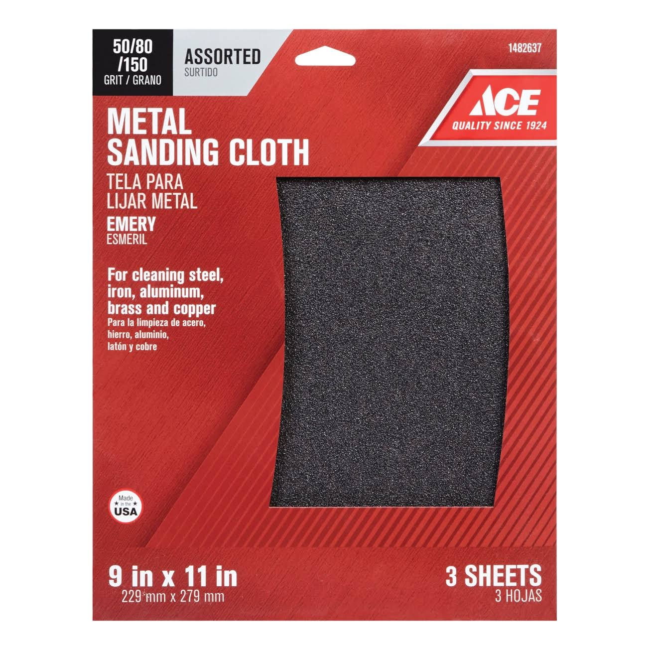 Ace Metal Sanding Cloth
