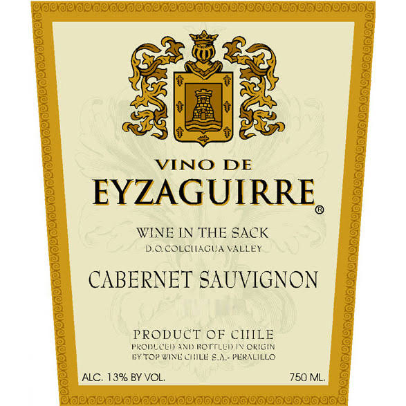 Vino De Eyzaguirre Cabernet Sauvignon, South America (Vintage Varies) - 750 ml bottle