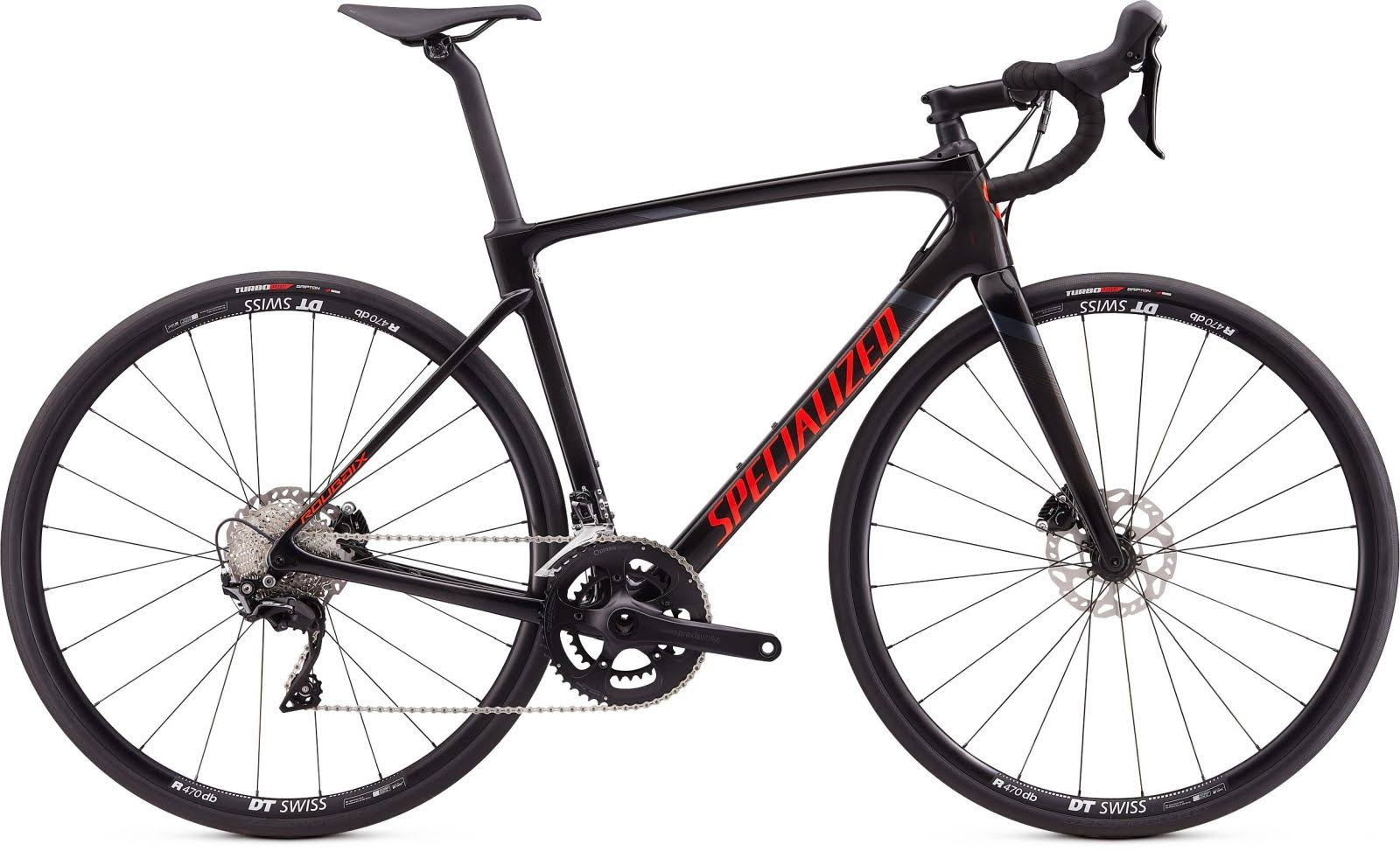 Specialized Roubaix Sport 2020 Road Bike - Carbon/Red/Black