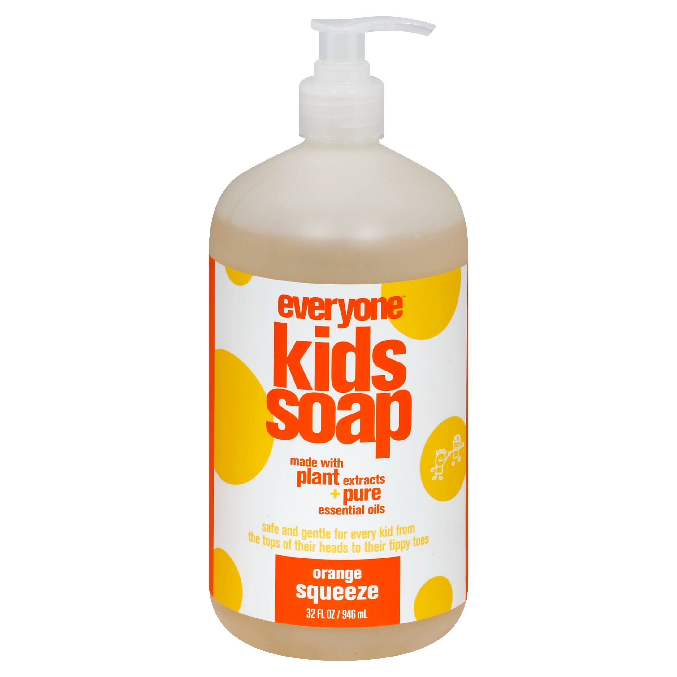 Everyone Soap for Kids - Orange Squeeze, 32oz